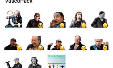 Vasco Rossi sticker pack