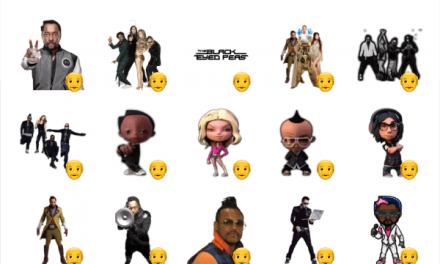 Black Eyed Peas sticker pack