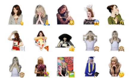 Emma Stone sticker pack