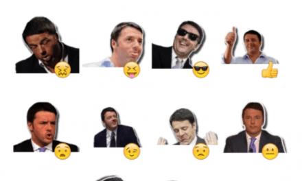 Matteo Renzi sticker pack