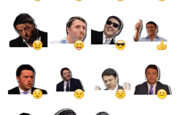 Matteo Renzi sticker pack