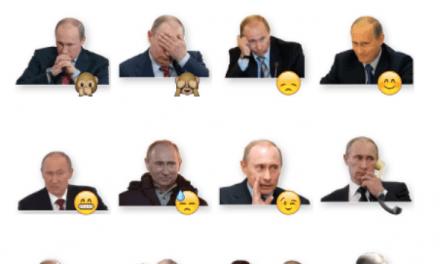 Putin sticker pack