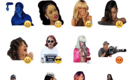 Rihanna sticker pack