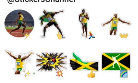 Usain Bolt sticker pack