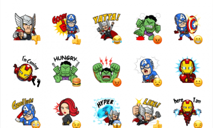 Marvel Mini Heroes Sticker Pack