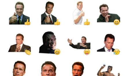 Arnold Schwarzenegger sticker pack