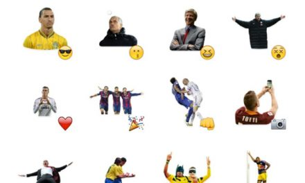 Football Players sticker pack