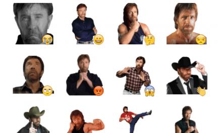 Chuck Norris sticker pack