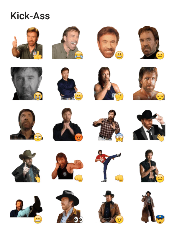 chuck-norris-sticker-pack