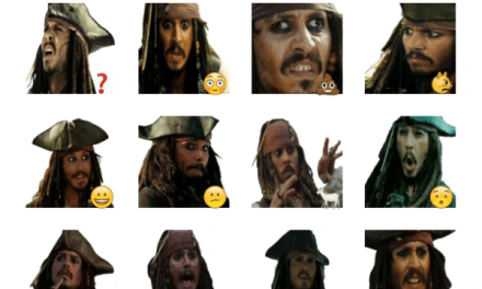 Jack Sparrow sticker pack