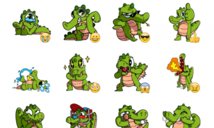 Harold the Alligator sticker pack