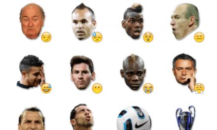 International Football Stars Sticker Pack