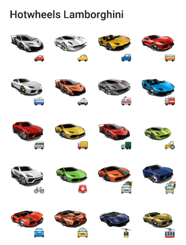 lamborghini-sticker-pack