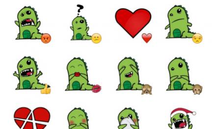 RawR Dinosaur sticker pack