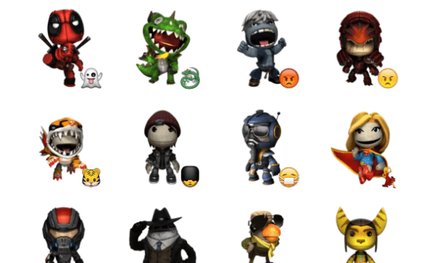 Sackboy sticker pack