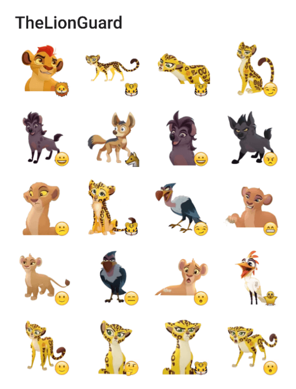 the-lion-guard-sticker-pack