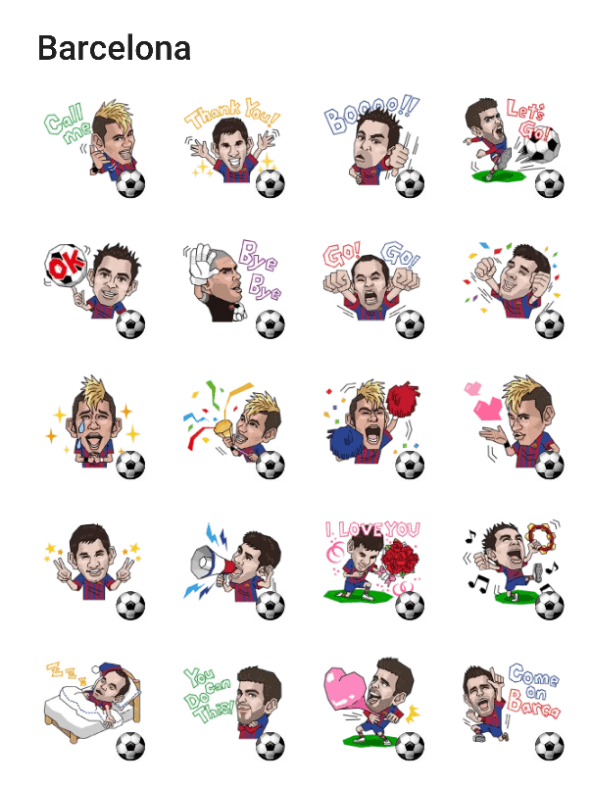 barcelona-sticker-pack
