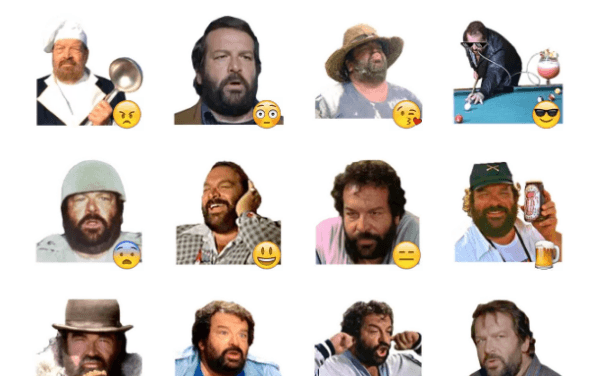 Bud Spencer Sticker Pack