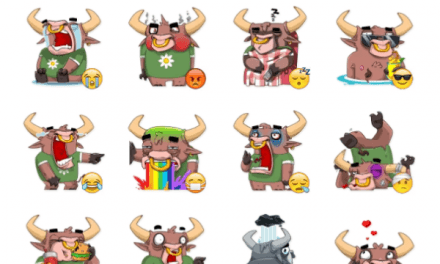 BullJoy sticker pack