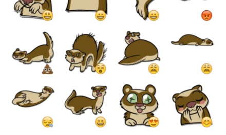 Ferrets Sticker Pack