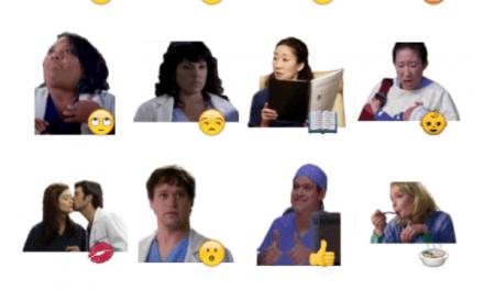 Grey's Anatomy Sticker Pack