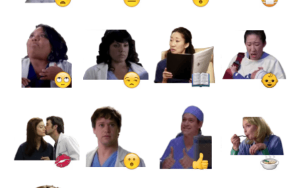 Grey's Anatomy Sticker Pack