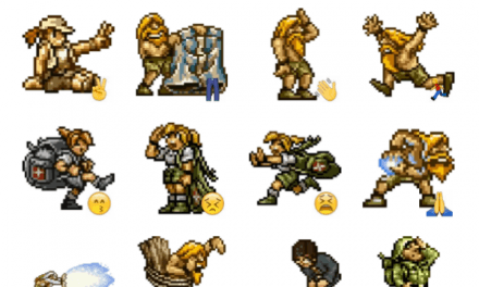 Metal Slug Sticker Pack