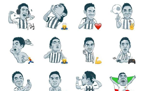 Marco Fabian Sticker Pack