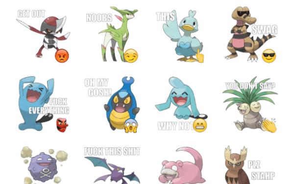 Pokémon Memes Sticker Pack