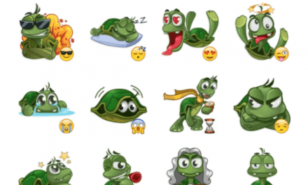 Sad Turtle Joe sticker pack