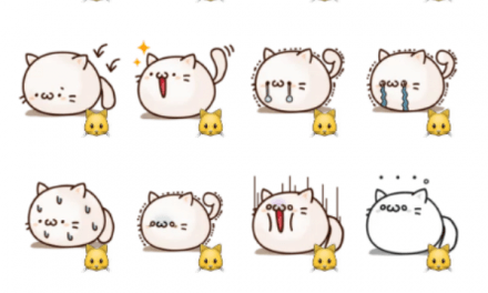 Round and Pretty Cat sticker pack