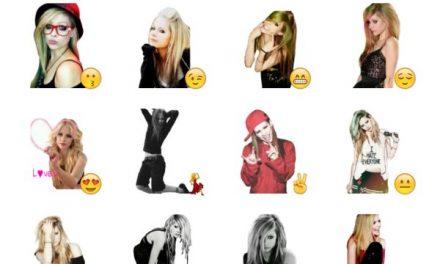 Avril Lavigne Sticker Pack