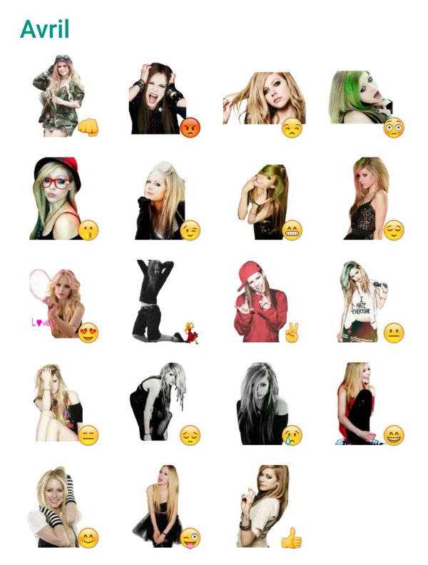 avril-lavigne-sticker-pack