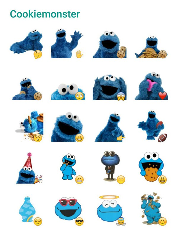 cookiemonster-sticker-pack