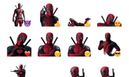 Deadpool Movie Sticker Pack