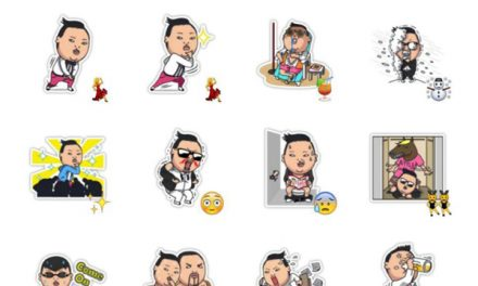 PSY – Gagnam Style Sticker Pack