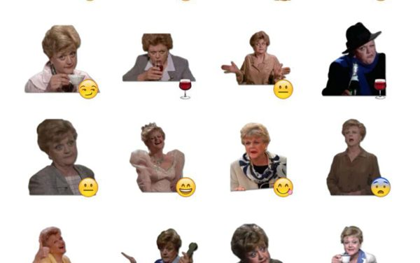 Jessica Fletcher Sticker Pack