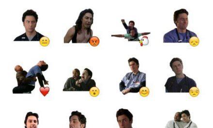 John Michael Dorian (JD) Sticker Pack