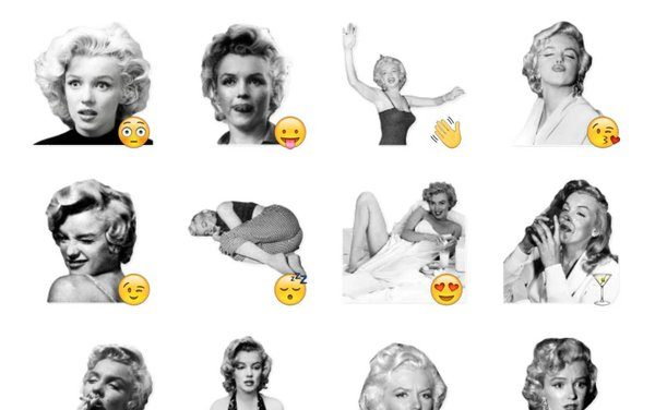 Marilyn Monroe Sticker Pack