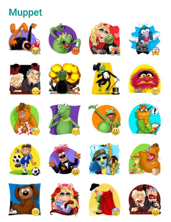 muppets-sticker-pack