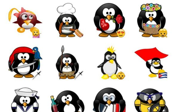 Penguinox Sticker Pack