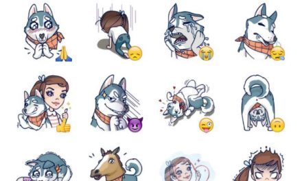 Jess and Jack Sticker Pack