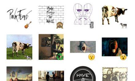 Pink Floyd Sticker Pack