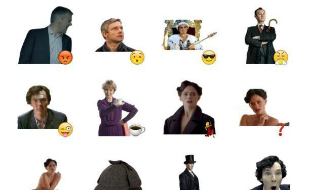 Sherlock Sticker Pack