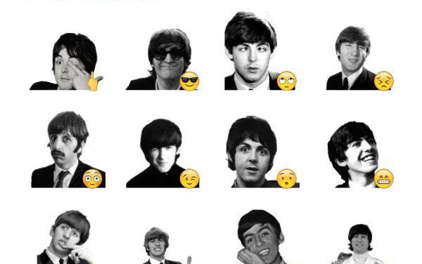 The Beatles Sticker pack
