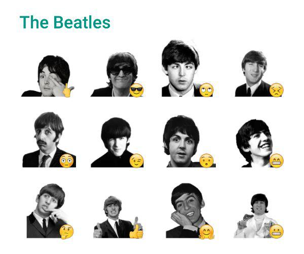 the-beatles-sticker-pack