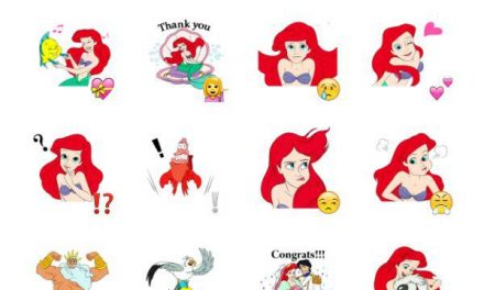 The Little Mermaid Sticker Pack