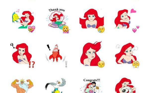The Little Mermaid Sticker Pack