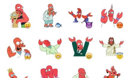 Zoidberg Sticker Pack