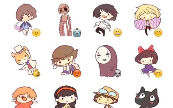 Studio Ghibli Sticker Pack